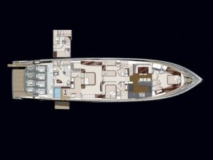 Lazzara LSX 92 luxury yacht rooms Lazzaras LSX Ninety Two   A Glamourous Yacht Experience